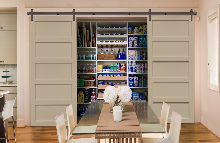 Pantry Sliding Barn Doors In Destin, Florida