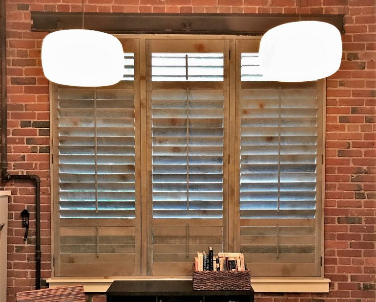 Reclaimed Wood Shutters In Destin, Florida
