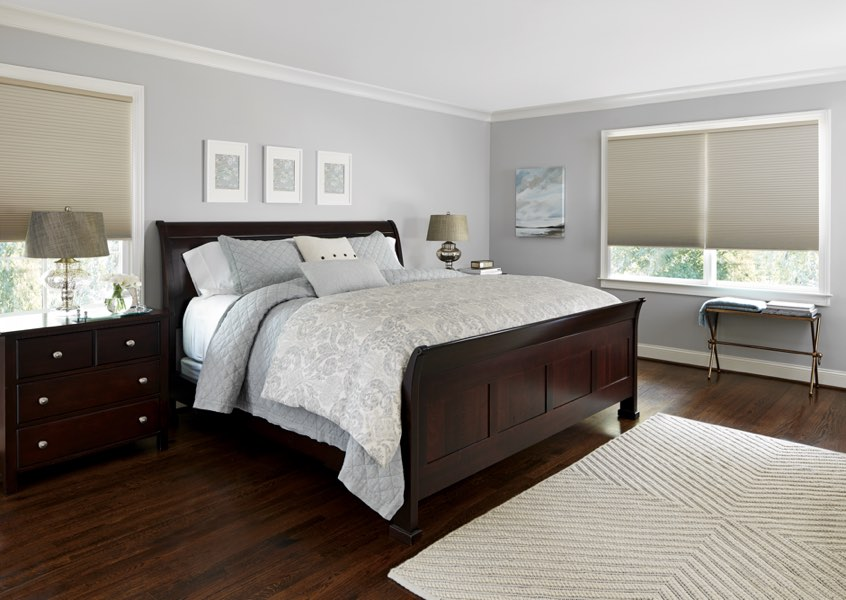 Destin blackout shades bedroom