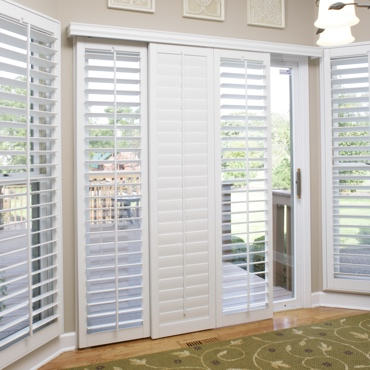 Destin Sliding Patio Door Shutters