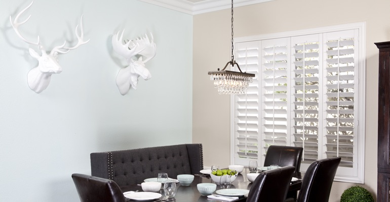 Destin dining room shutters