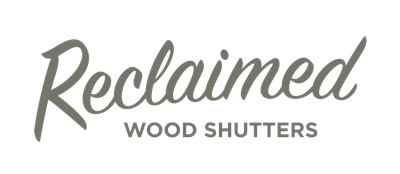 Destin reclaimed wood shutters