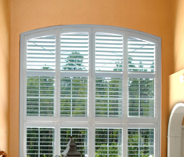 Arched Window Shutters In Destin, Florida