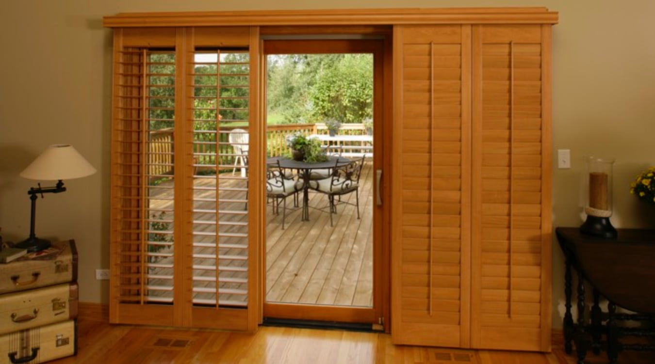 Sliding Glass Door Shutter In Destin