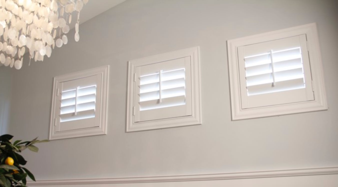 Destin small window shutters