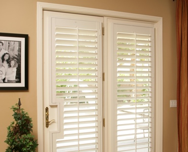 Destin french door shutters