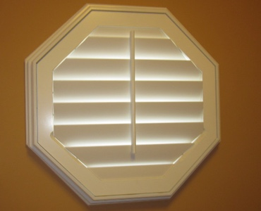 Destin octagon window shutter
