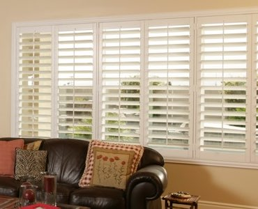 Destin wide window shutter living room