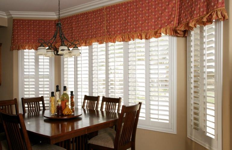 Wide Window Treatment Ideas In Destin Sunburst Shutters